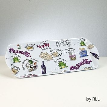 """Passover Potpourri"" Rectangle Melamine Tray"