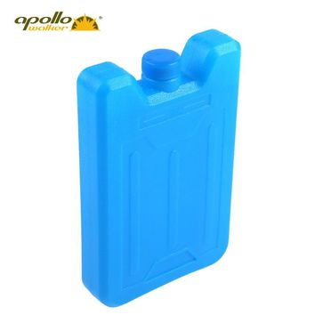 New HDPE Ice water filled box Plane type Ice box for Lunch bags and cooler bags large capacity 600ml Absorbent polymer resin box