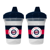 MLB Minnesota Twins Team 5-Ounce Sippy Cups  2-Pack