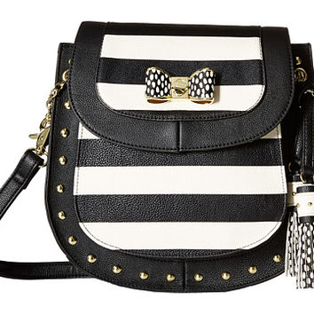 Betsey Johnson Saddle Crossbody