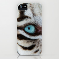 WHITE TIGER BEAUTY iPhone & iPod Case by Catspaws | Society6