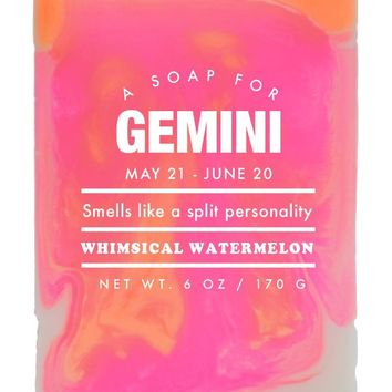 Gemini Whimsical Watermelon Scented Soap - Smells Like a Split Personality