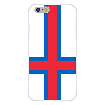 Apple iPhone 6 Custom Case White Plastic Snap On - Faroe Islands - World Country National Flags
