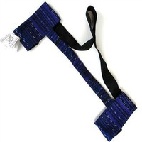 Hand Woven SololаЃа Yoga Mat Sling in Deep Purple - Maya Traditions (A)