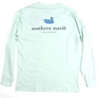 Southern Marsh Men's Authentic Long Sleeve Tee