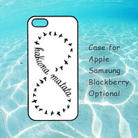 Hakuna Matata for iphone cases 4 4s 5 ipod touch cases 4 5 ipod cases 4 5 Samsung galaxy cases s3 s4 note 2 blackberry cases Z10 Q10