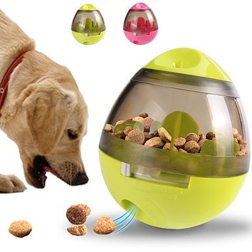 Pet Dog Souptoys Safety ABS Dog Bowls Feeding Food Bowl Tumbler Design Dog Eating Toys Original Package Pets Supplier