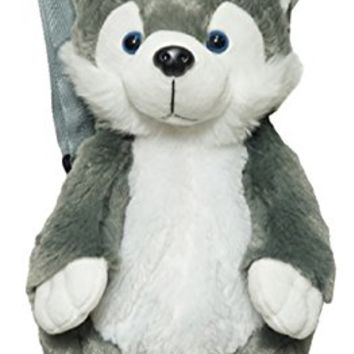 "16"" Super Soft Fluffy Animal Backpacks (Different Styles)"