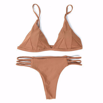 Sienna Braided Brazilian Bikini Set