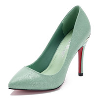 Womens Sleek Classic Close Toe High Heels