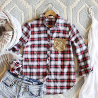 Northwest Stars Plaid Shirt