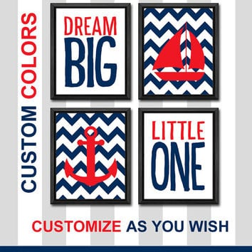 nautical baby nursery decor nautical boy nursery dream big little one nursery gift ideas sail boat boys room art anchor baby wall decor