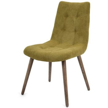 Marvin Olive Green Side Chair