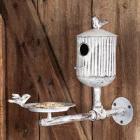 Rook's Roost Bird Feeder and Birdhouse