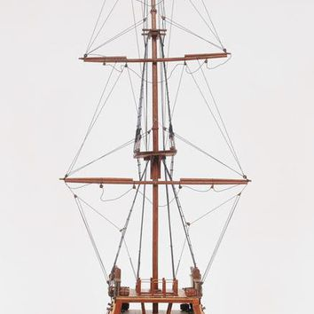 USS Constitution Cross Section Hancrafted Sail Boats Models