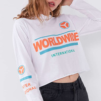 BDG Worldwide Long-Sleeve Tee - Urban Outfitters