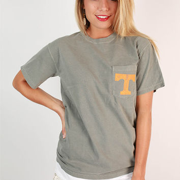 University of Tennessee Unisex Comfort Color Pocket Tee