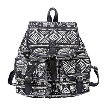 University College Backpack Aelicy New 2018 School Bag Canvas women  5 Pattern type Drawstring Printing Female s for  students 1025AT_63_4