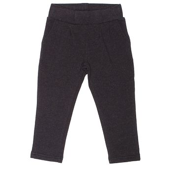 Soft, Cotton Baby and Toddler Girl Leggings - Charcoal