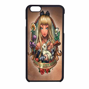 Disney Princess Alice In Wonderland Vintage iPhone 6 Case