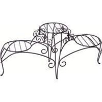 Panacea Products - 3- Tiered Plant Stand With Finial