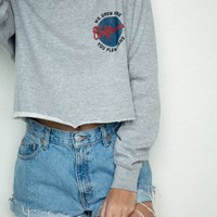NANCY CA GLOBE SWEATSHIRT