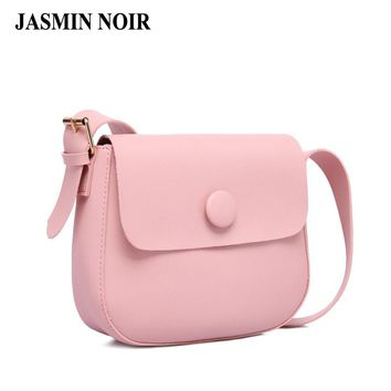 New Japan and Korean Women Small Over Shoulder Bag Simple All Match Female Saddle Cross Body Bag Ladies Messenger Bag Day Clutch
