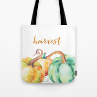 harvest Tote Bag by Sylvia Cook Photography