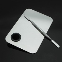 Stainless Steel Makeup Palette Spatula Pro Mixer