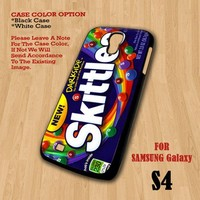New Skittles Darkside Rainbow - For Samsung Galaxy S4 Case Cover