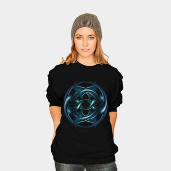 Circle Of Life II Crewneck By VanessaGF Design By Humans