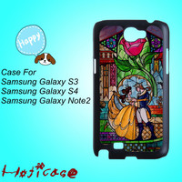 Beauty and the beast-Samsung S3 case,Samsung S4 case,Samsung note 2 case,cute Samsung S4 case,pretty Samsung S4 case, cool Samsung S4 case.