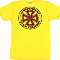 INDE OGTC SS XL-YELLOW