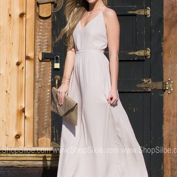Blushing Ethereal Maxi Dress