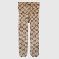 GUCCI New Popular Women Sexy GG Letter Jacquard High Elastic Mesh Pantyhose Trousers I12954-1