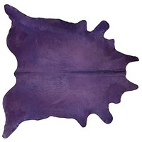 One Kings Lane - Shop the Show: HGTV Star - 7'x6' Daisy Hide, Purple