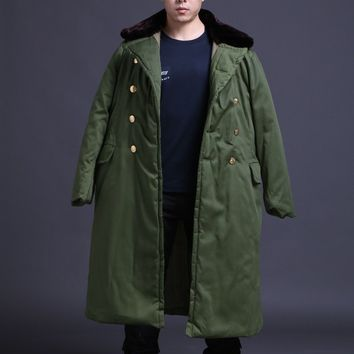 CHINESE ARMY PLA COMMUNIST PARTY TYPE 85 WINTER MILITARY UNIFORM GREATCOAT COAT MILITARY UNIFORM- World military Store