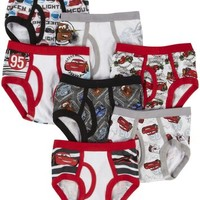 Handcraft Disney Cars Briefs 7-pk - Free Shipping