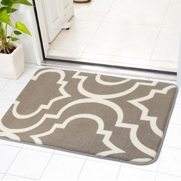 Autumn Fall welcome door mat doormat Zeegle Geometric Pattern Welome Home Entrance Mats Non-slip s Bathroom Bath Mat Area Rug For Living Room Bedroom Carpets AT_76_7