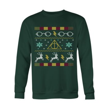 Harry Potter Glasses Ugly Christmas Sweater - Unisex