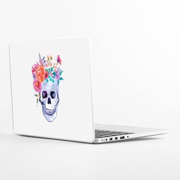 Flower Crown Laptop Skin