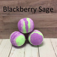 Blackberry Sage - Bath Bomb