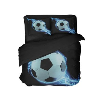 Soccer Pillowcase from Extremely Stoked Soccer Bedding Collection