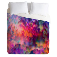 Amy Sia Sunset Storm Duvet Cover