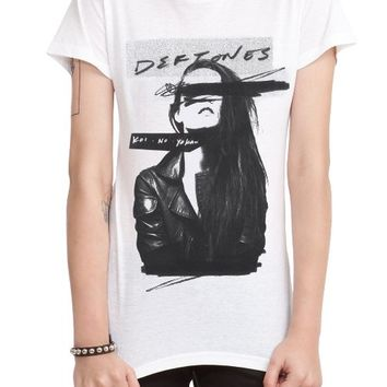 Hot Topic Women's Deftones Koi No Yokan T-Shirt
