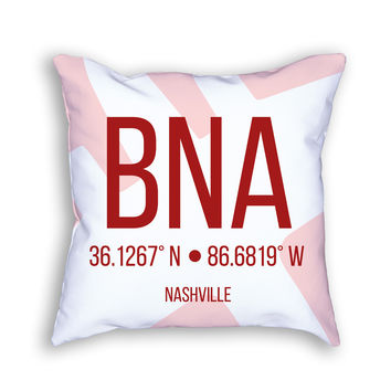 BNA Airport Pillow