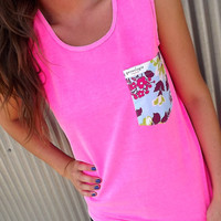 Flower Power Pocket Tank