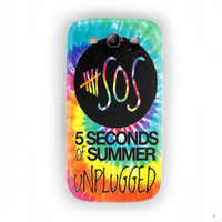 Unplugged 5 seconds of summer For Samsung Galaxy S3 Case