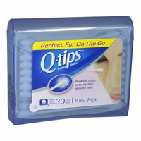 Q-Tips Purse Pack Swabs, 30 Count