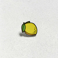 Pintrill Lemon Pin - Urban Outfitters